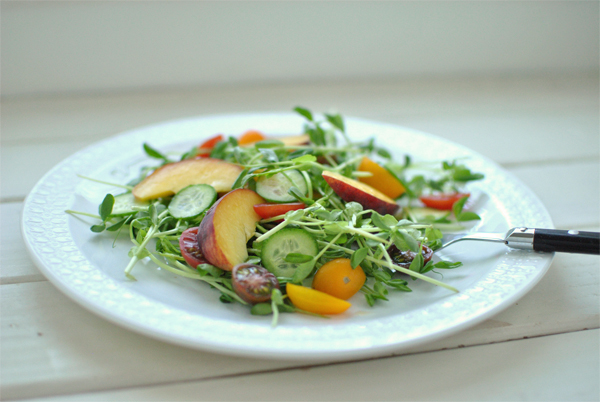 Pea Sprouts Salad