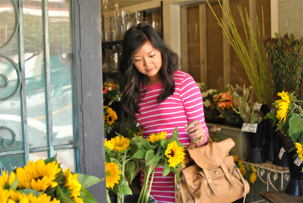 flower shopping
