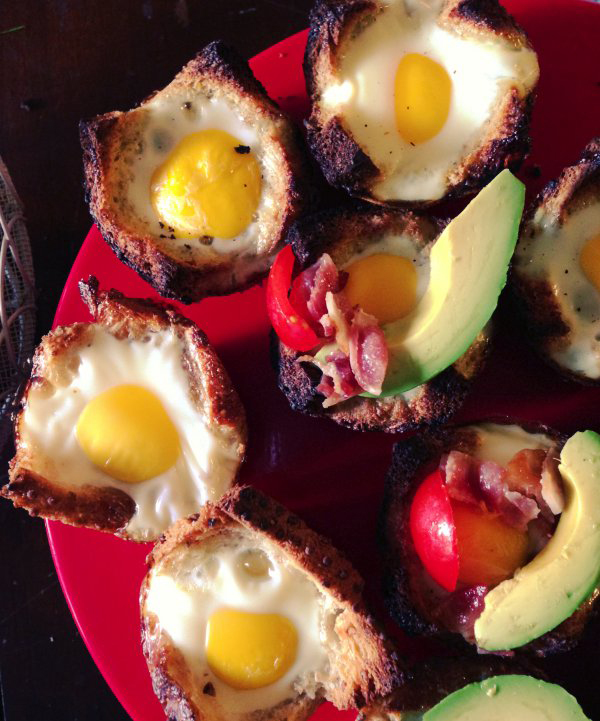 egg sandwich cups