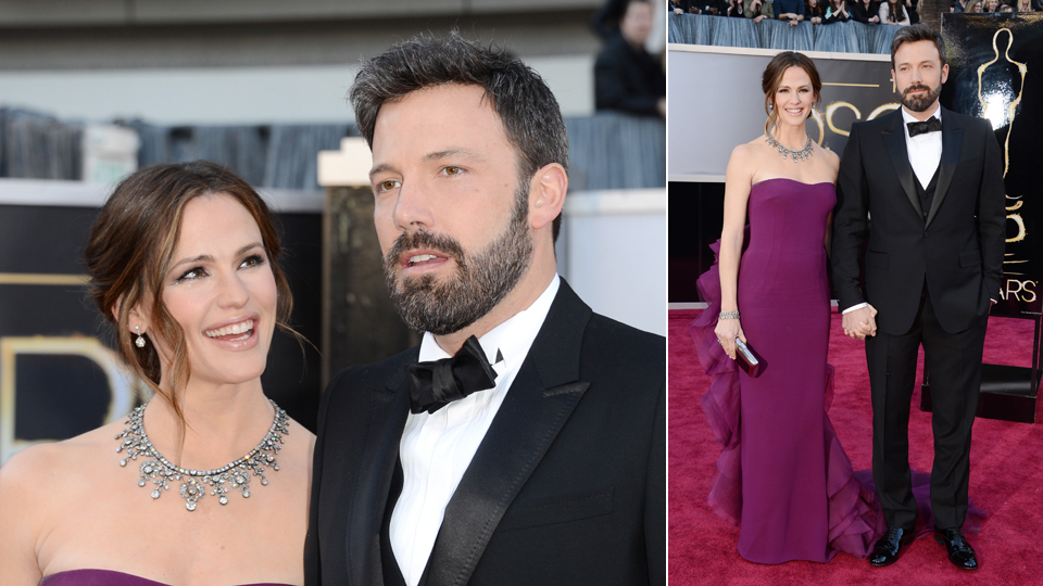 jennifer garner and ben affleck 2013 oscars