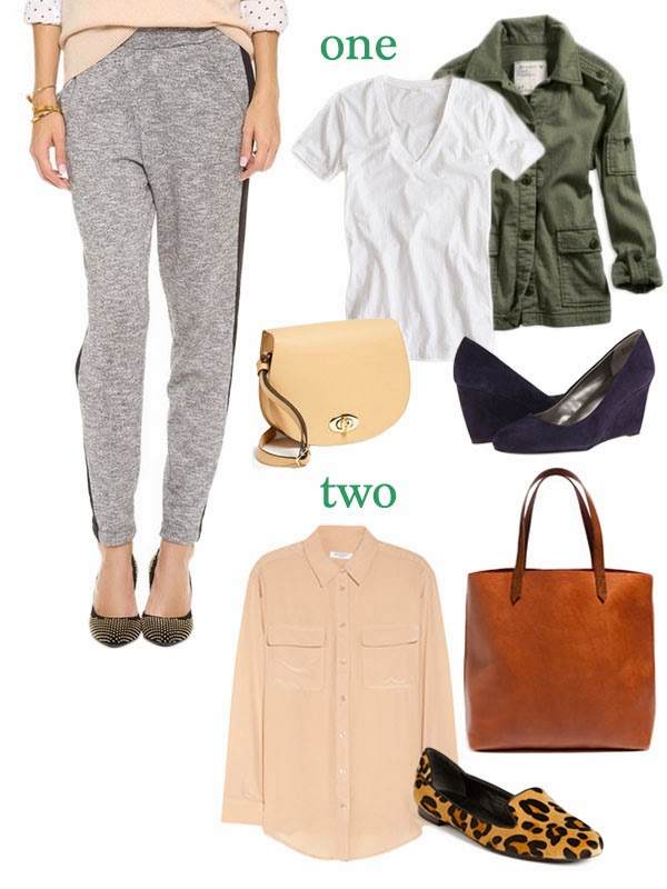 how to wear slouchy pants