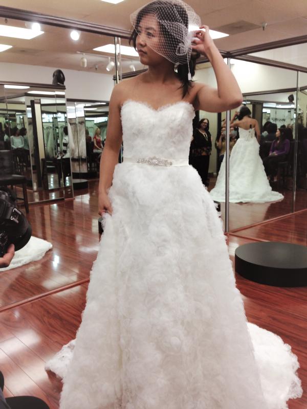 carrie wedding dress