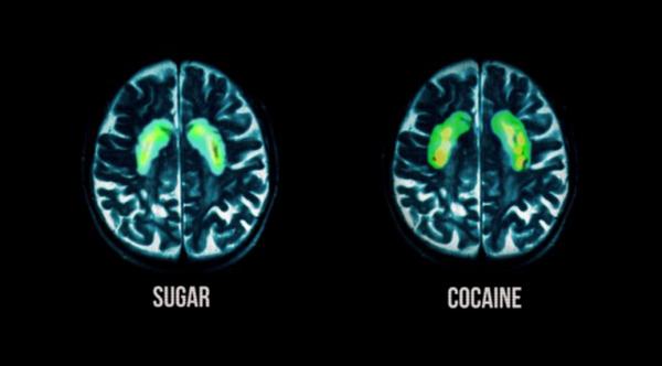 sugar like cocaine